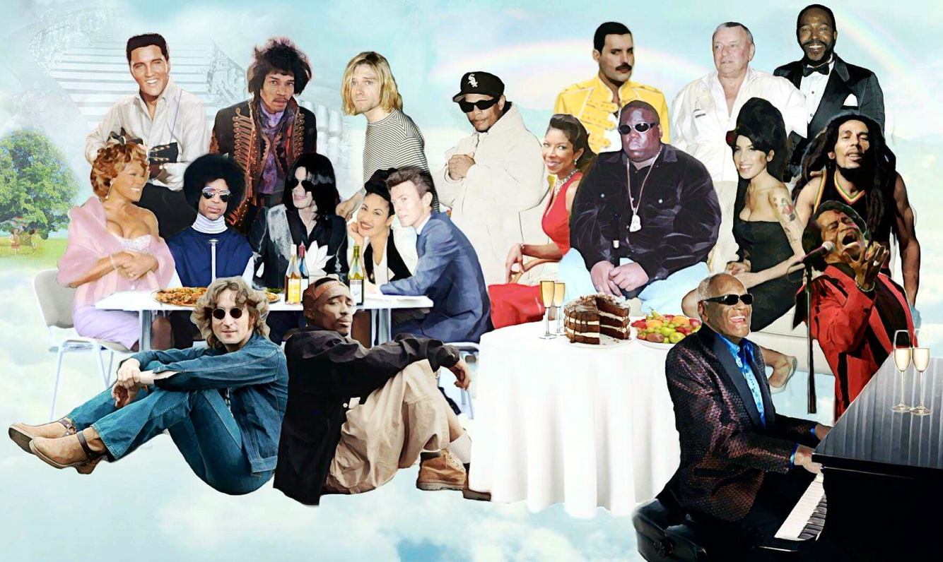 Prince, David Bowie ve Jimi Hendrix