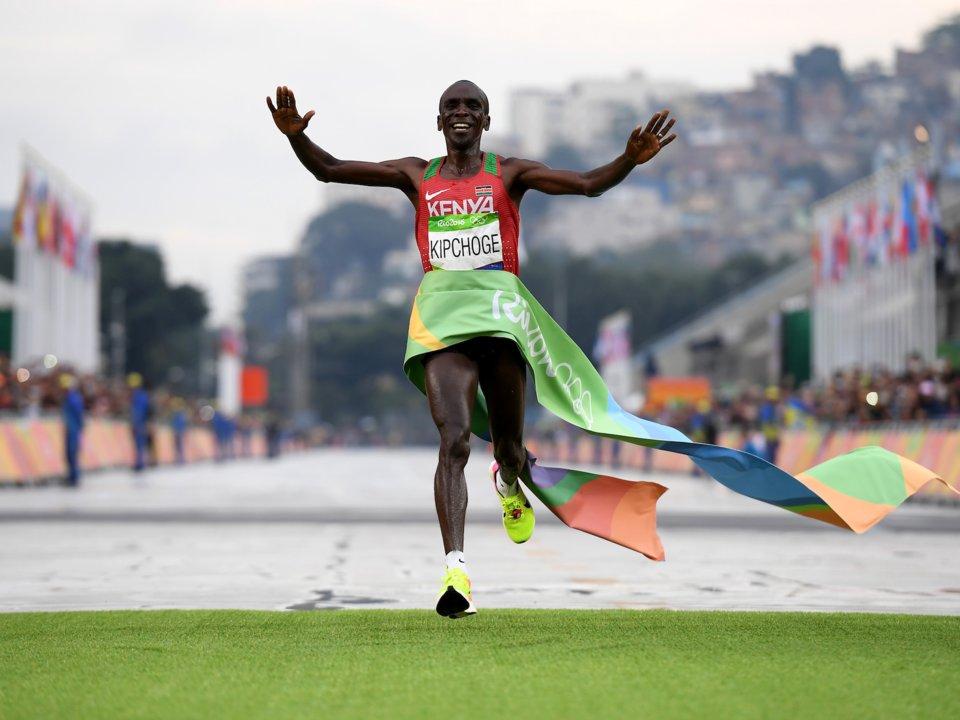 Eliud Kipchoge 2016 Rio Yaz Olimpiyatları