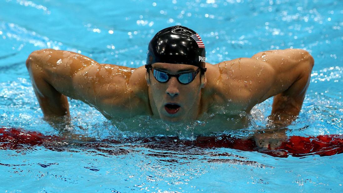 2012 Londra Yaz Olimpiyatları Micheal Phelps