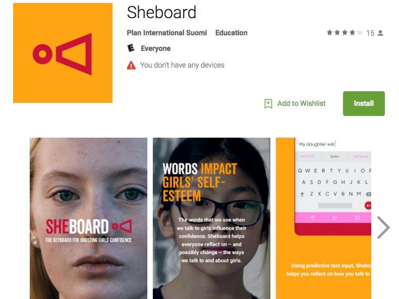 sheboard klavye