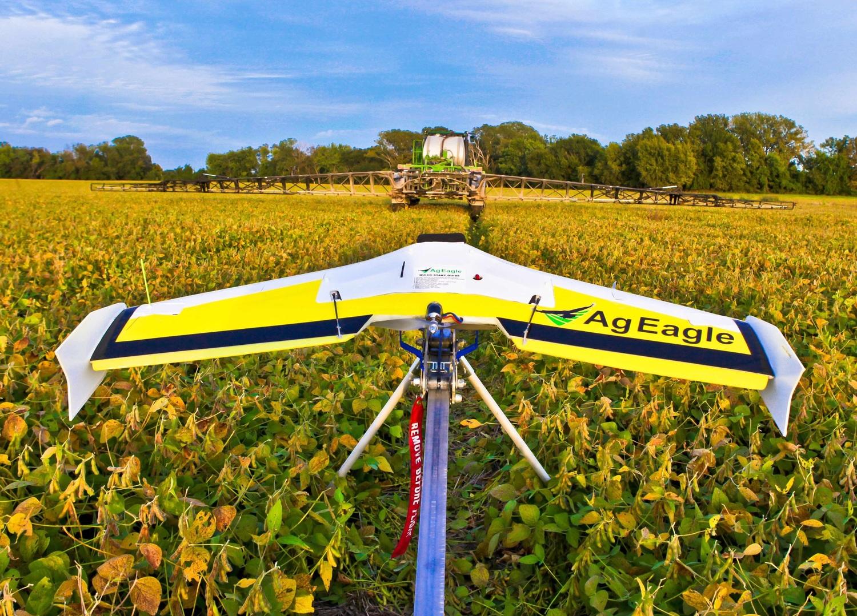 tarımda kullanılan bir drone