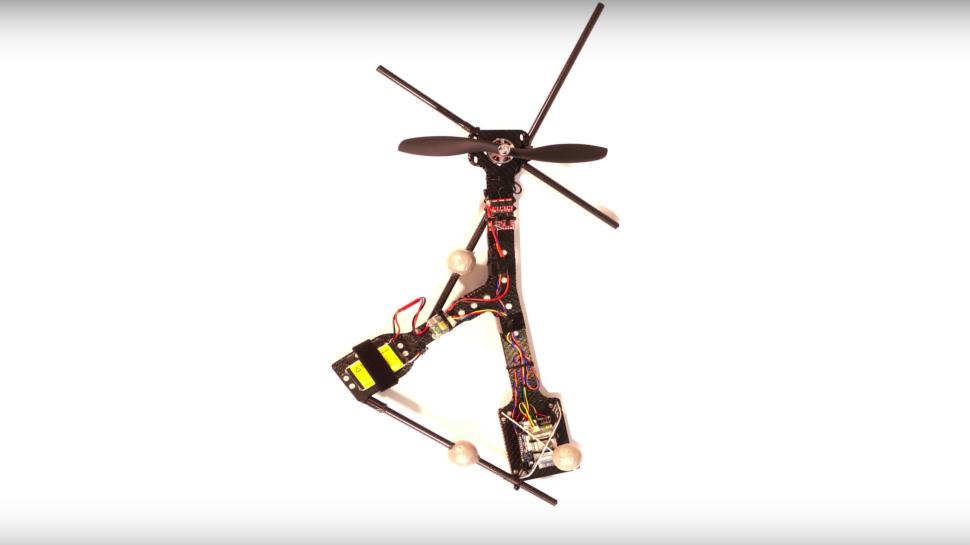 tek pervaneli drone