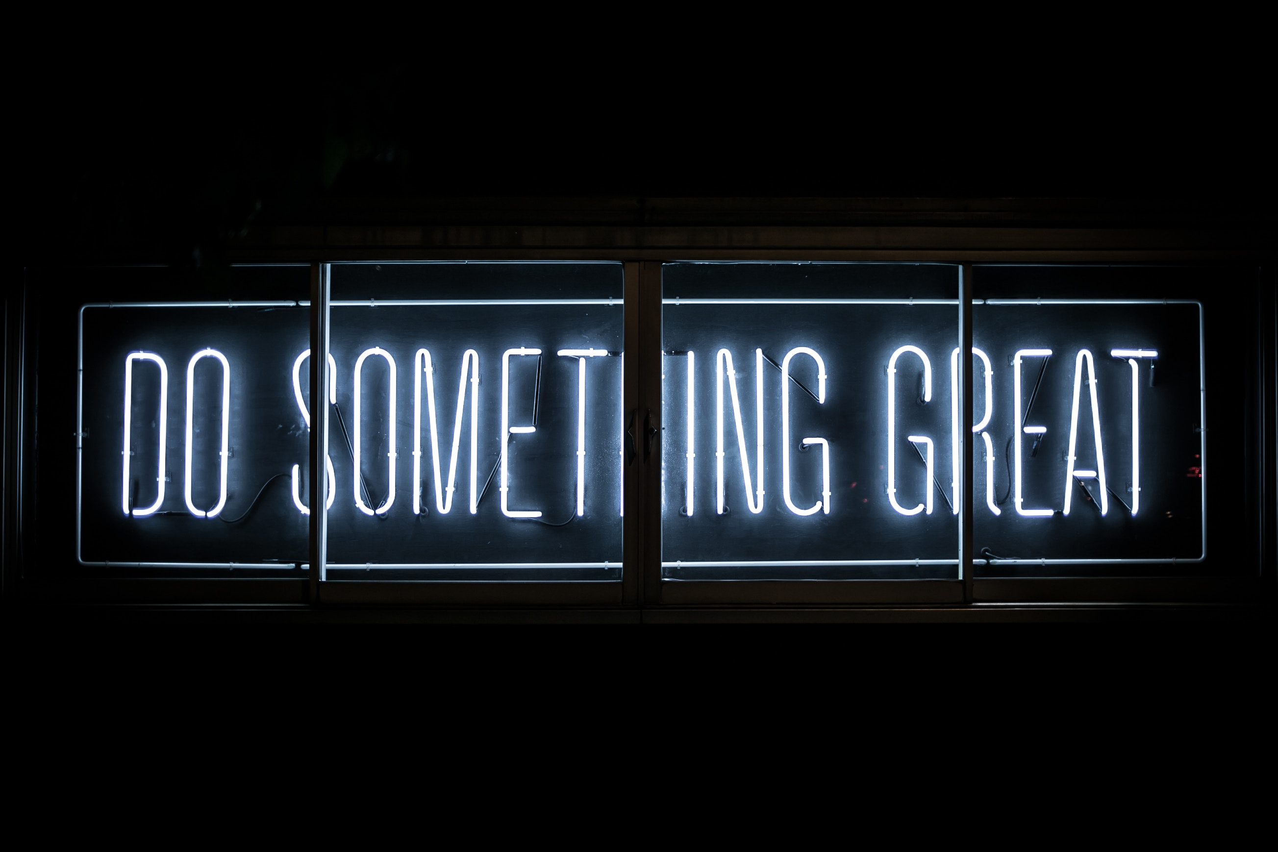 Harika bir şey yap