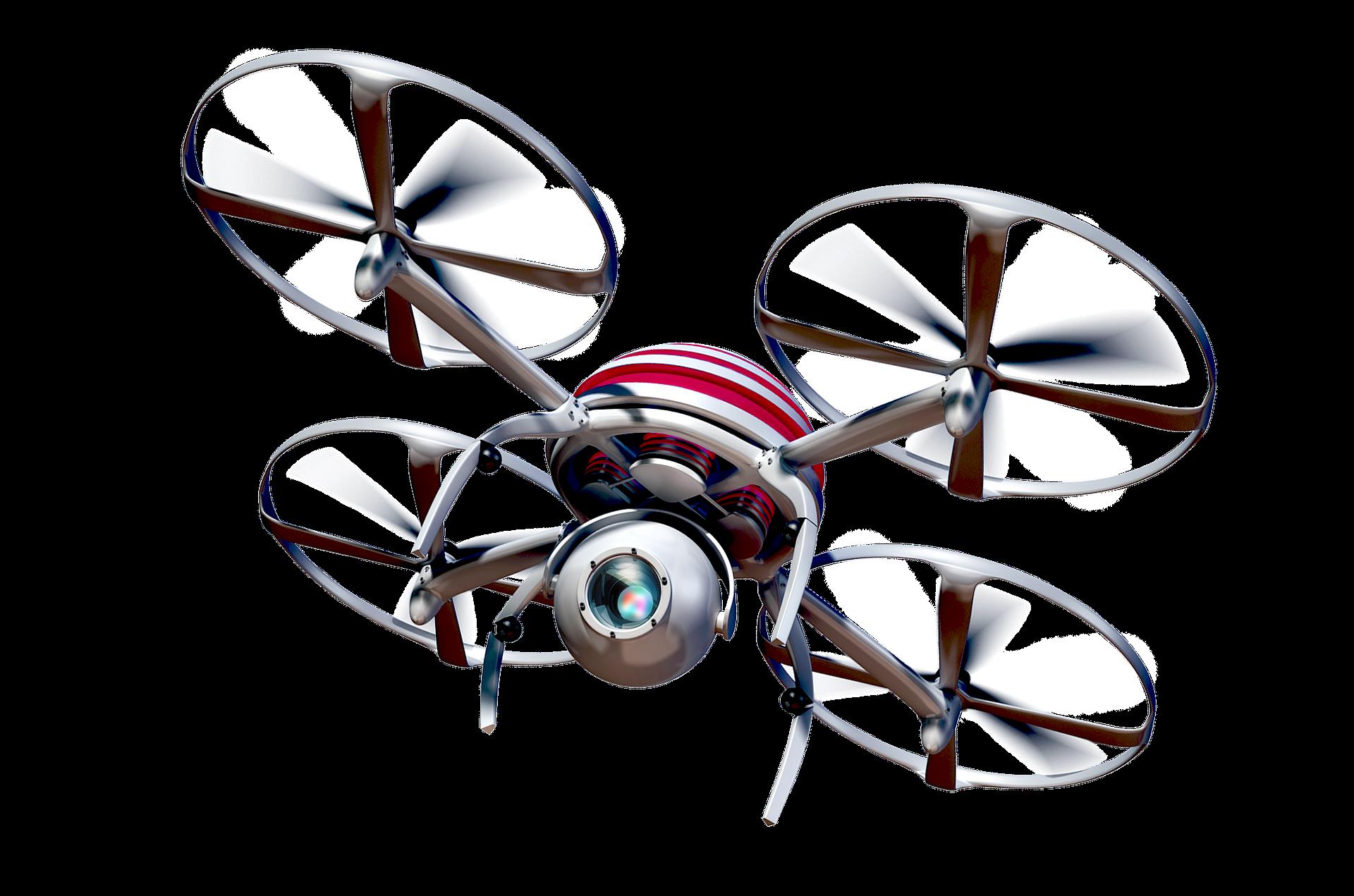 çok pervaneli drone