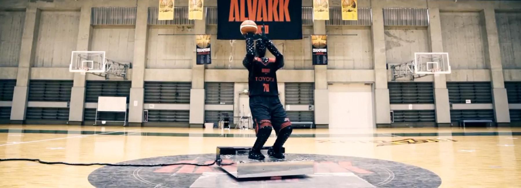 ilk basketbolcu robot örneği