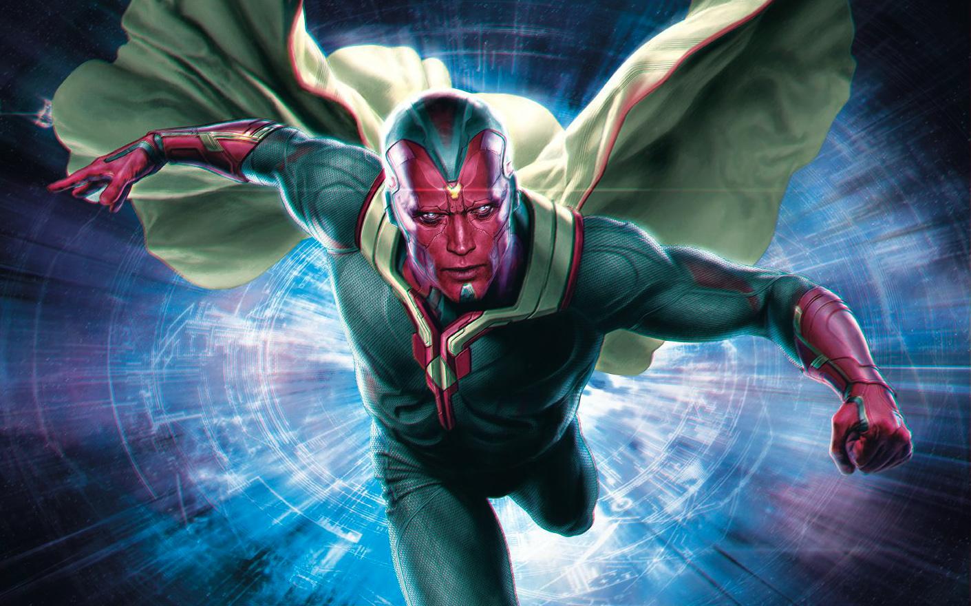 marvel vision un güçleri