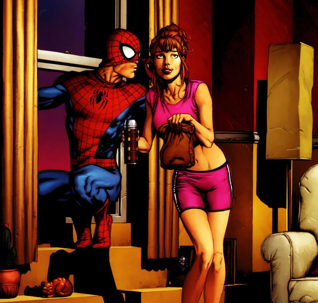 spiderman ve mary jane