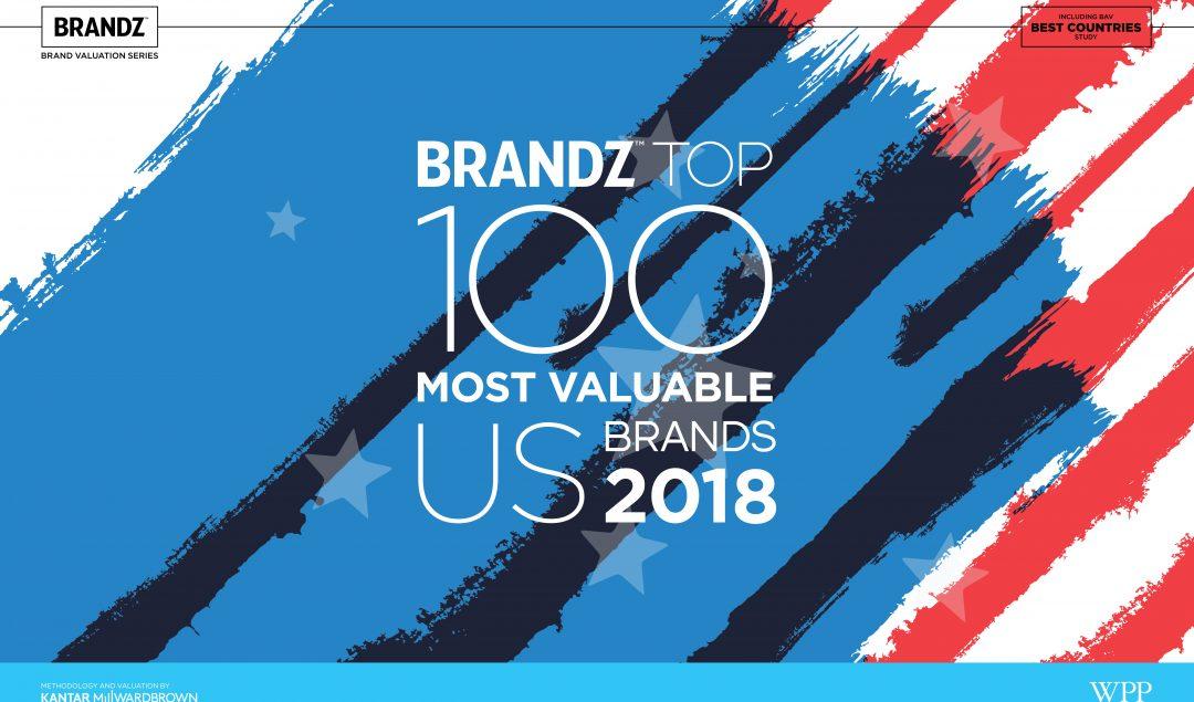 2018 brandz top 100