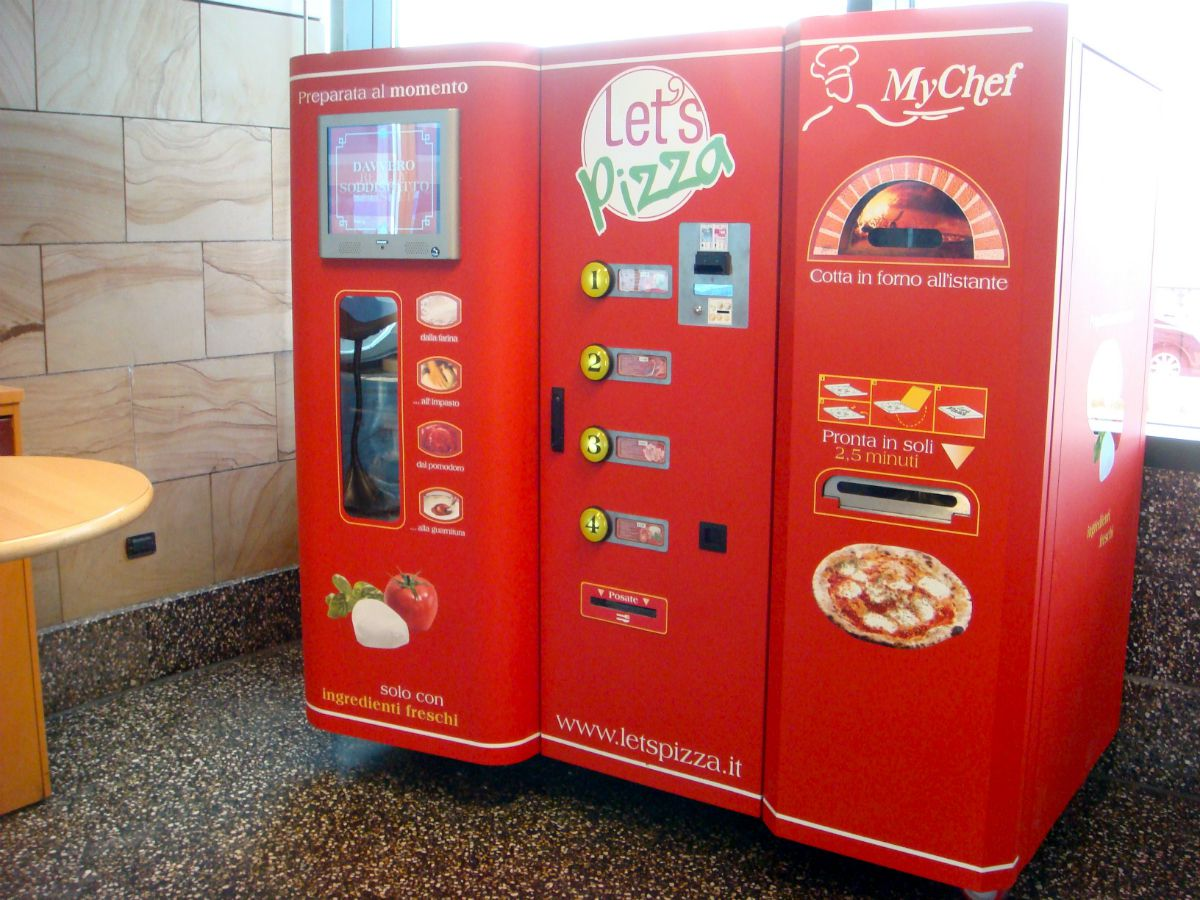 pizza otomatı