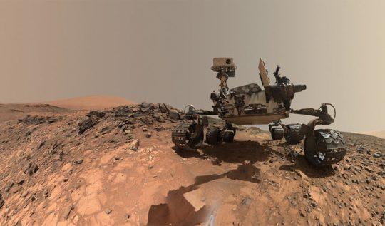 mars gezgini curiosity