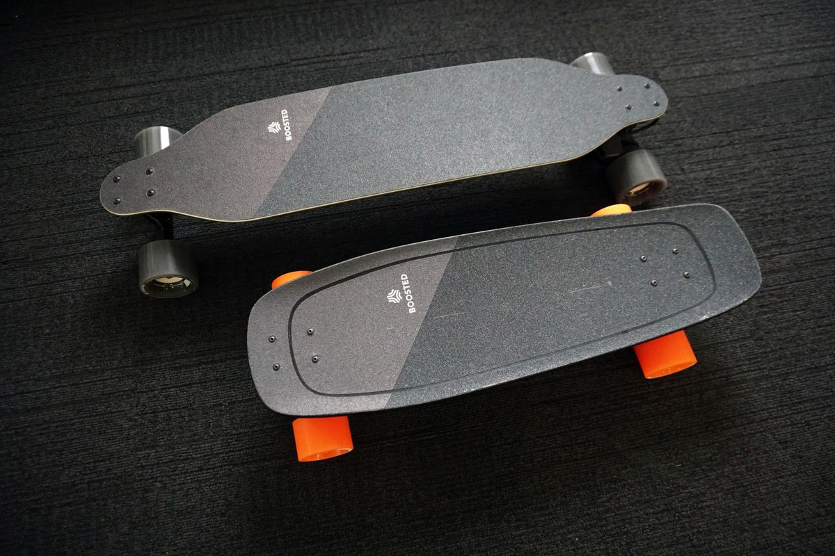 Boosted Mini S and X kaykaylar