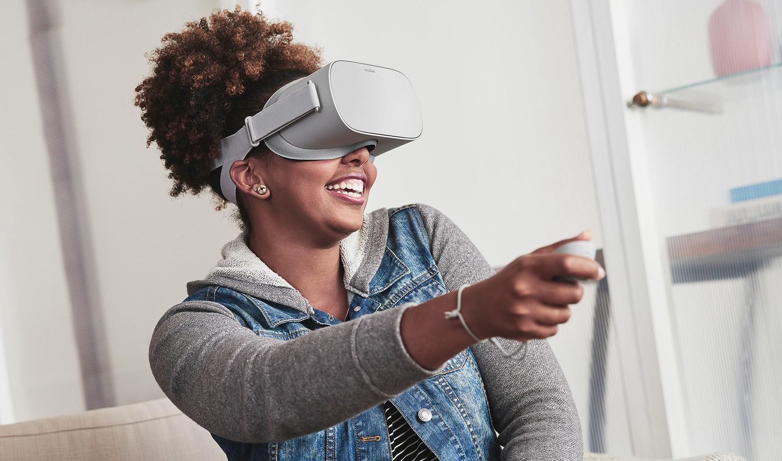 Oculus Go VR gözlükler