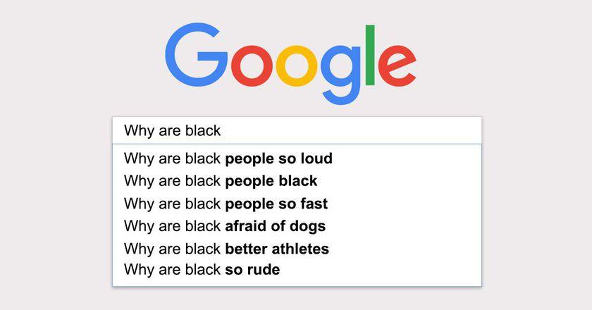 google ve ırkçılık