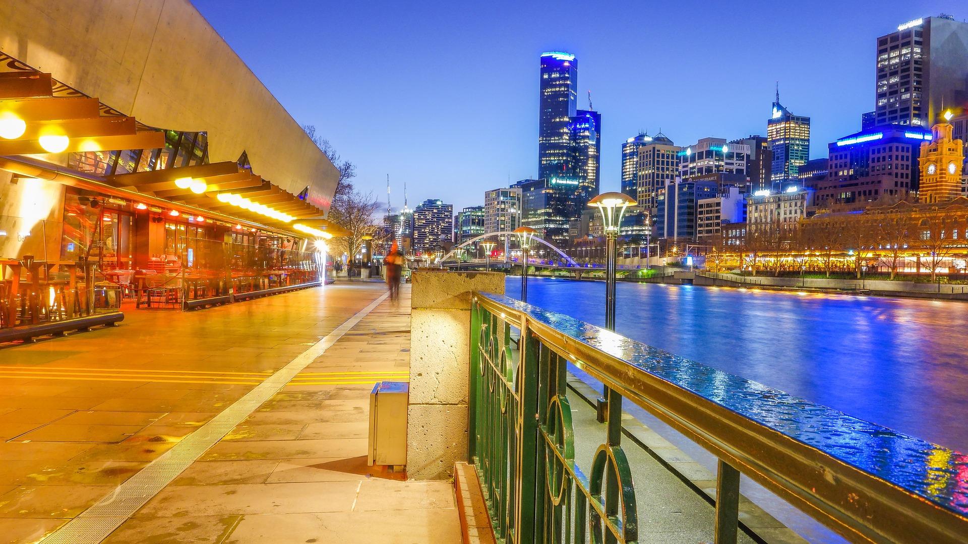 Melbourne gece