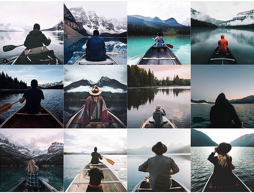 Instagram fotoğraflarının benzerliği