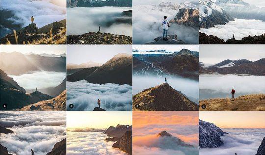 instagram seyahat fotoğrafları arasındaki benzerlik