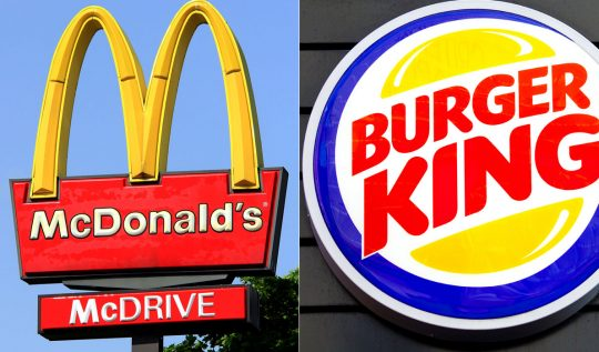 marka savaşları burger king vs mcdonalds