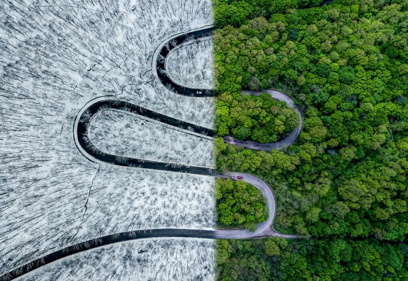 Drone Fotoğrafçılığı Alanında Ödül Alan - Weather Snake