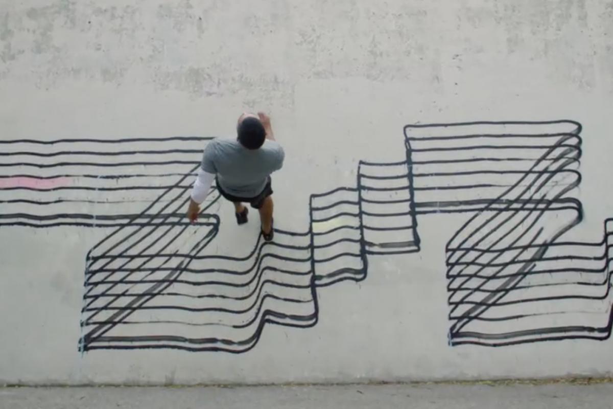 h&m graffiti