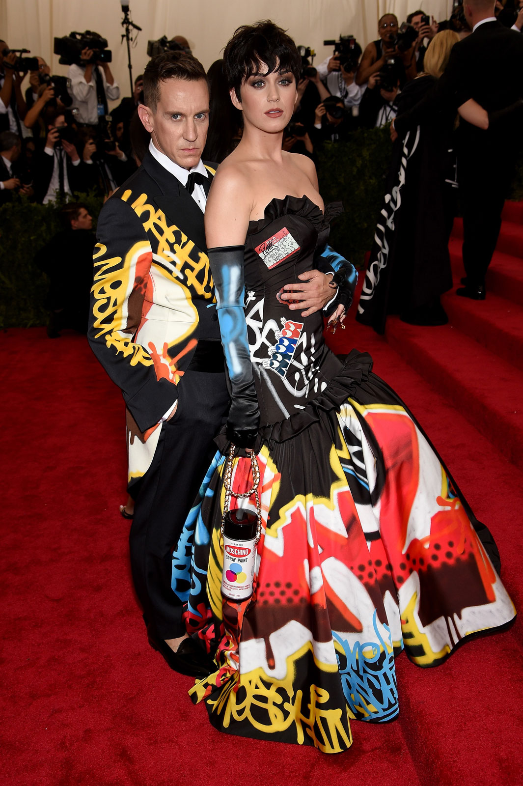 katty perry moschino elbisesi