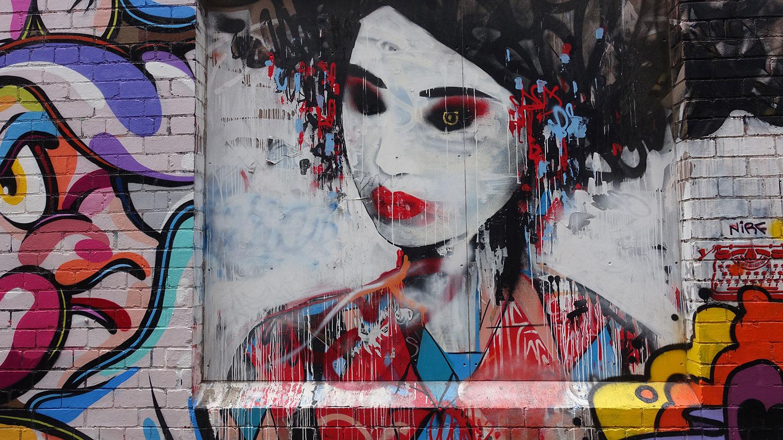melbourne grafiti başkenti