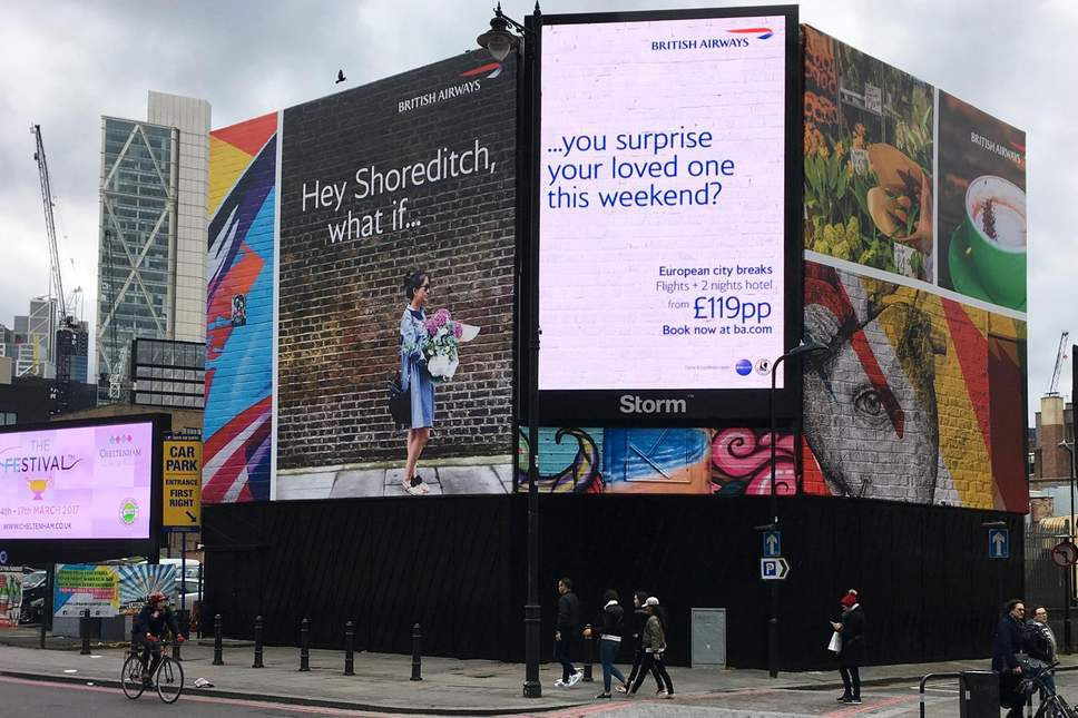 british airways reklamı