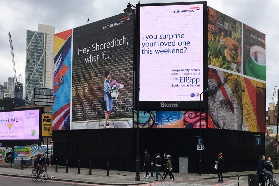 british airways reklamı