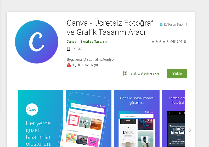 canva android indir