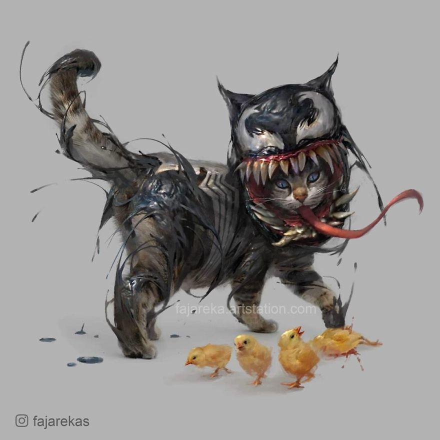 venom cat