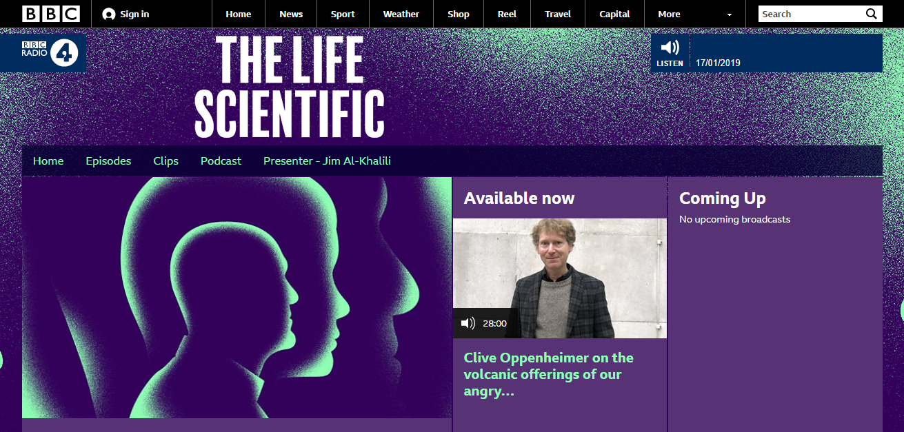 the life scientific podcasts