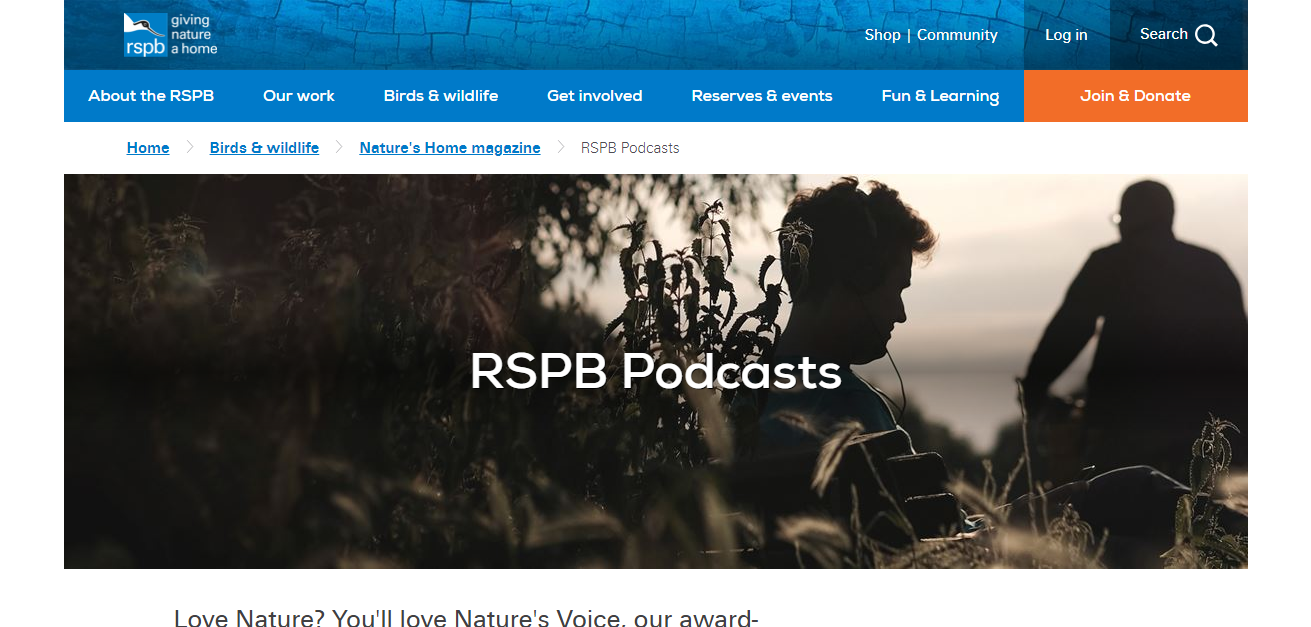 nature's voice podcast