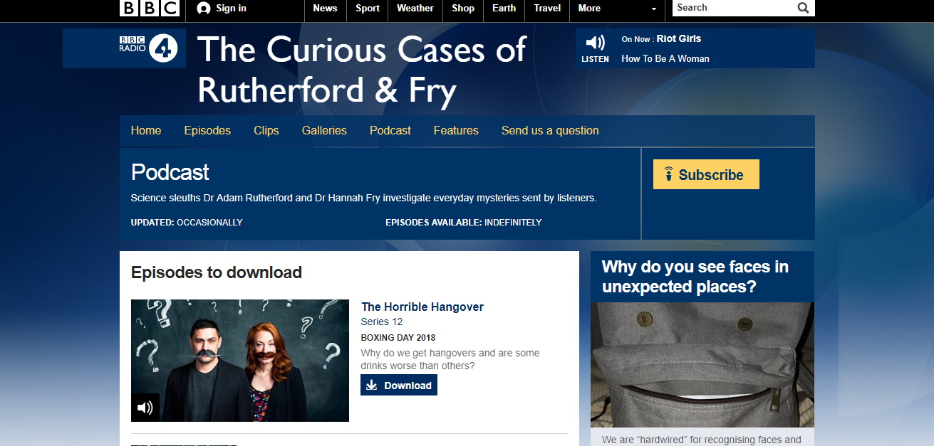 the curious cases of rutherford and fry podcast