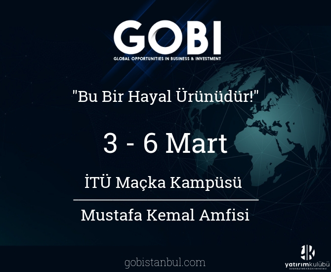 GOBI zirvesi istanbul