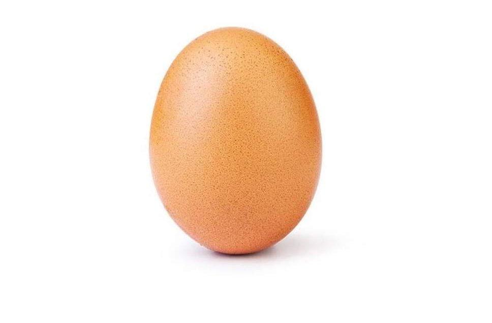 instagramın en beğenileni yumurta