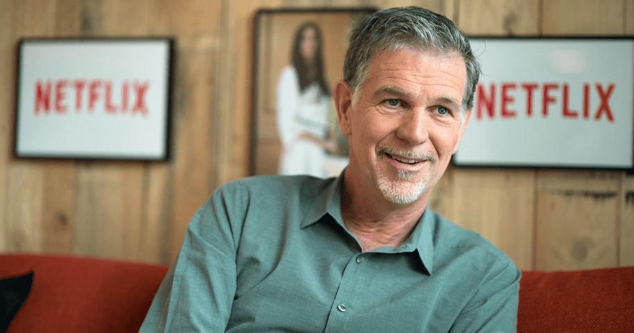 Netflix Ceo'su Reed Hastings
