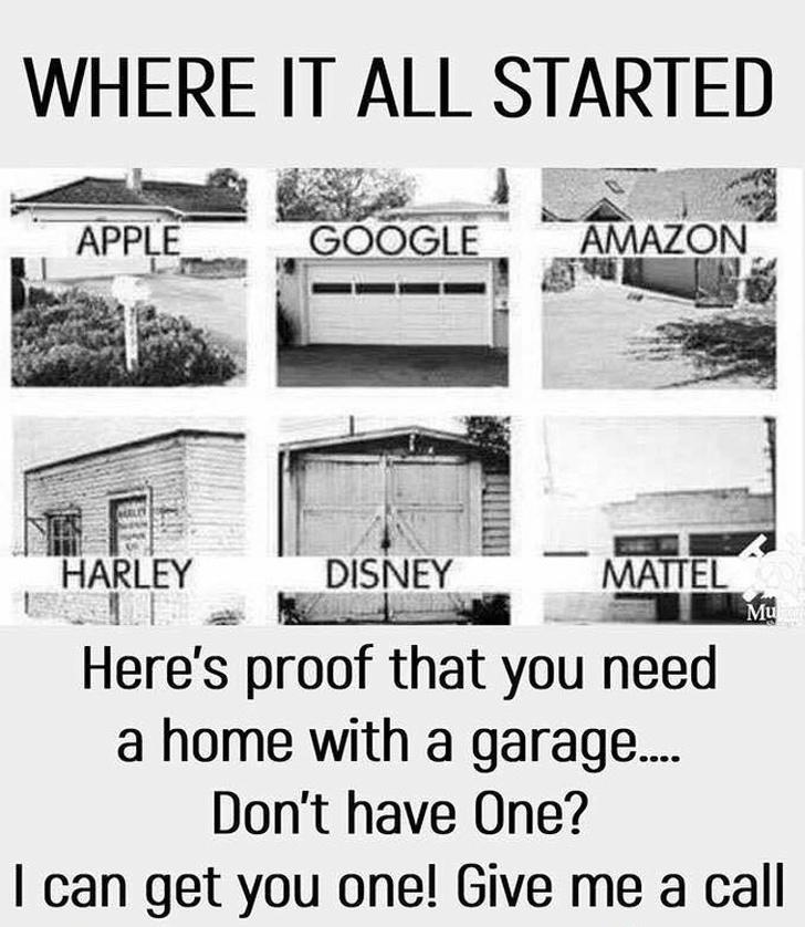 garaj reklamı