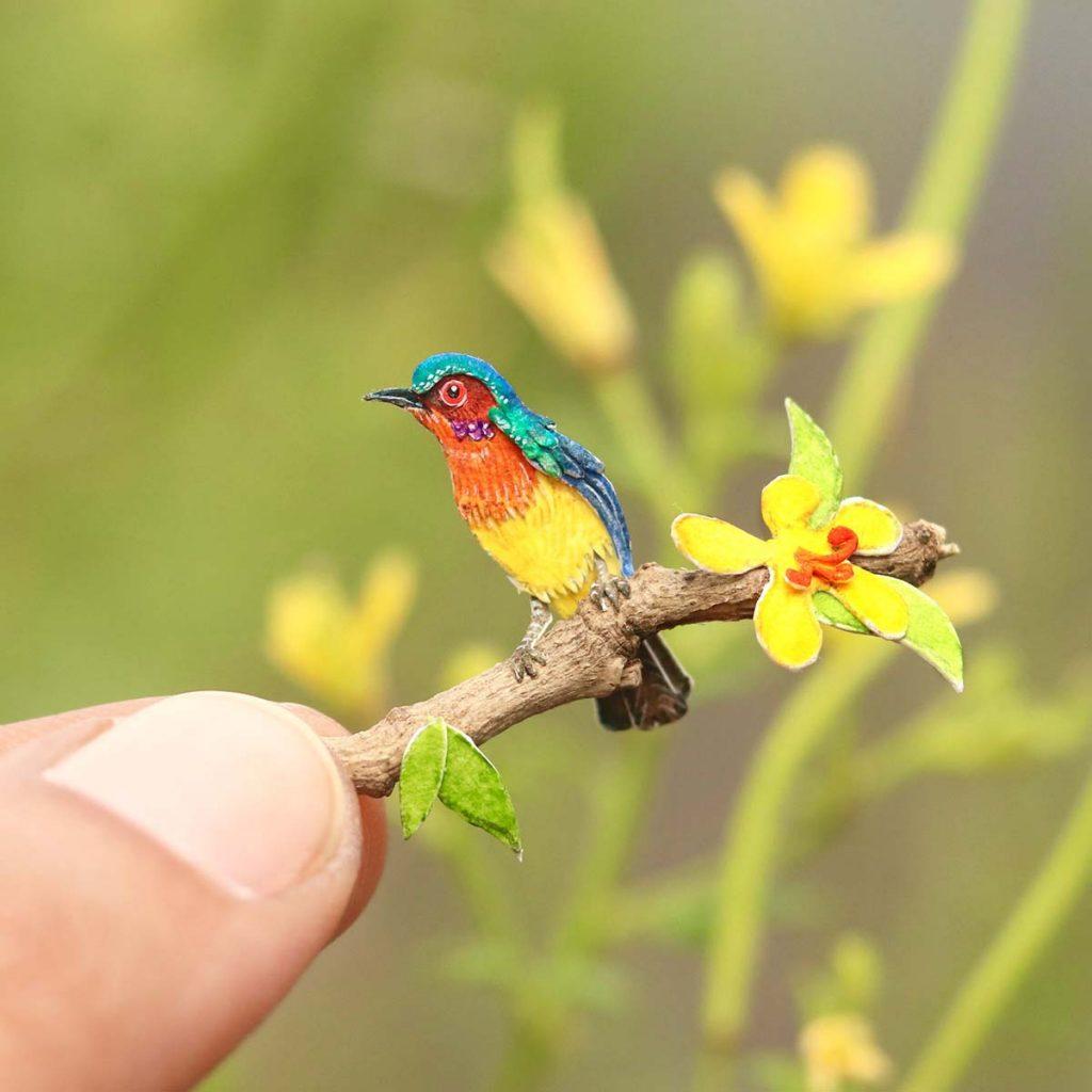 1000 Day Miniature sanatı