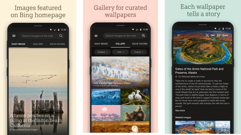 bing wallpapers uygulaması - mayis-ayinin-en-iyi-android-uygulamalari