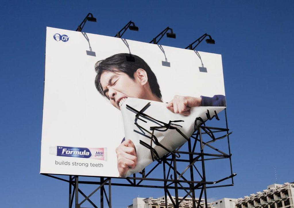 yaratıcı bilboard reklamları
