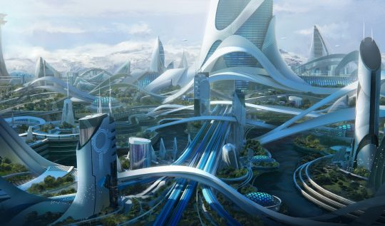 Gelecekte dünya