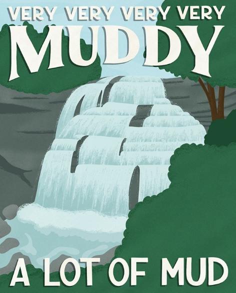 Cuyahoga Valley National Park - komik afişler