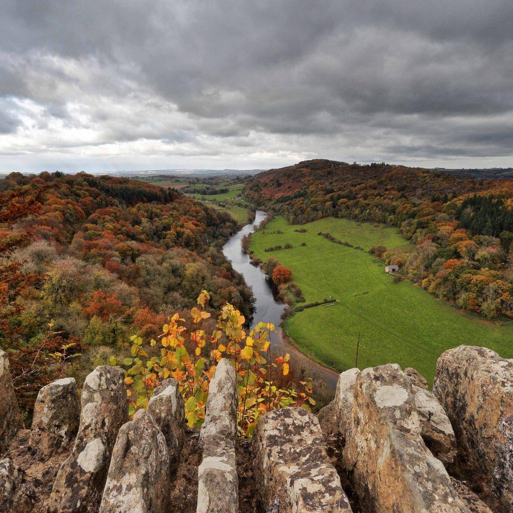 En popüler Seyahat Noktaları, Yüzüklerin Efendisi, Gloucestershire, ingiltere, forest of dean