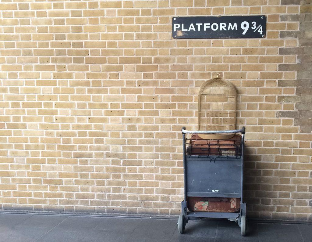 King's Cross, harry potter, 9 3/4, JK Rowling, kitaplarla ünlenen en popüler seyahat noktaları