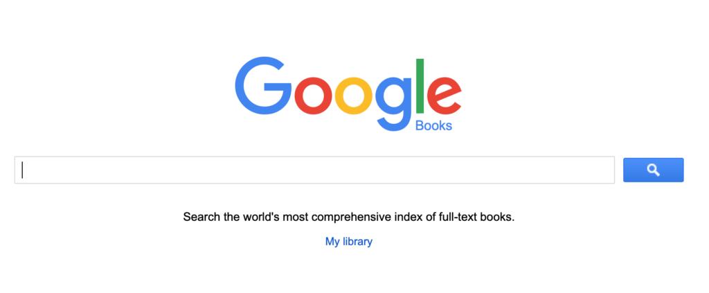 Google Kitaplar dünyanın en kapsamlı e-kitap kataloğu