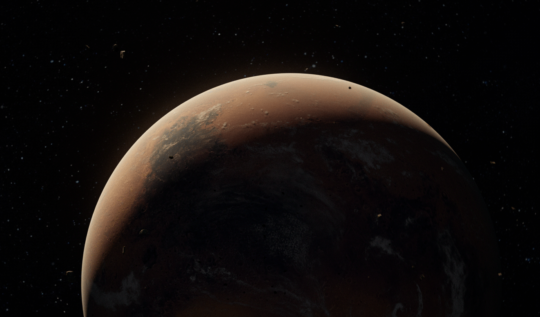 Mars'ta Çekilmiş Ürkütücü Fotoğraflar ve Sırları